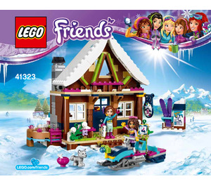 LEGO Snow Resort Chalet Set 41323 Instructions