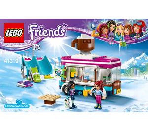 LEGO Snow Resort Hot Chocolate Van Set 41319 Instructions