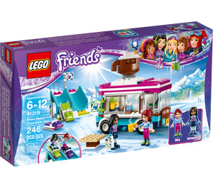 LEGO Snow Resort Hot Chocolate Van Set 41319 Packaging