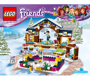 LEGO Snow Resort Ice Rink Set 41322 Instructions