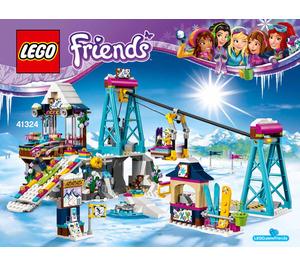 LEGO Snow Resort Ski Lift Set 41324 Instructions
