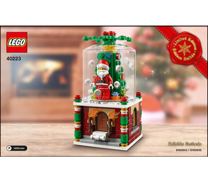 LEGO Snowglobe Set 40223 Instructions