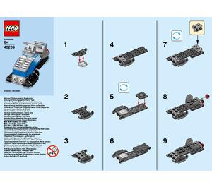 LEGO Snowmobile Set 40209 Instructions