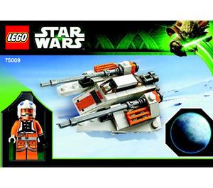LEGO Snowspeeder & Hoth Set 75009 Instructions