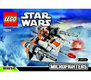 LEGO Snowspeeder Microfighter Set 75074 Instructions
