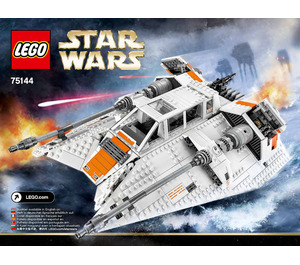 LEGO Snowspeeder Set 75144 Instructions