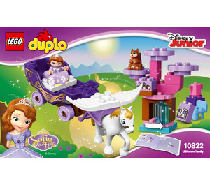 LEGO Sofia the First Magical Carriage Set 10822 Instructions