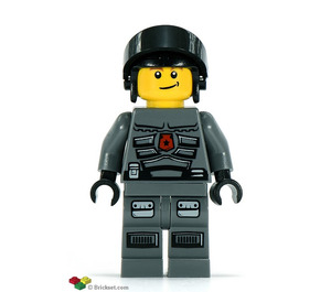 LEGO Space Police 3 Officer 8 Minifigure