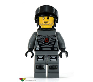 LEGO Space Police 3 Officer with Airtanks Minifigure