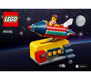 LEGO Space Rocket Ride Set 40335 Instructions