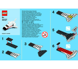 LEGO Space Shuttle Set 40127-1 Instructions