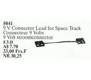 LEGO Space Track Connector Lead 9V (10 cm) Set 5041