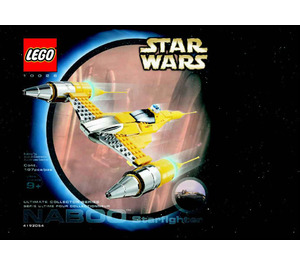 LEGO Special Edition Naboo Starfighter Set 10026 Instructions