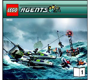 LEGO Speedboat Rescue Set 8633 Instructions