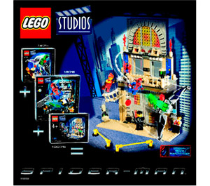 LEGO Spider-Man Action Pack Set 10075 Instructions