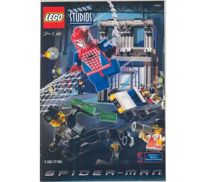 LEGO Spider-Man Action Studio Set 1376 Instructions