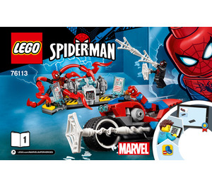 LEGO Spider-Man Bike Rescue Set 76113 Instructions