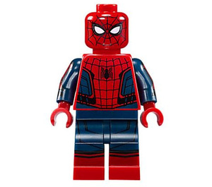 LEGO Spider-Man - Black Web Pattern, Red Torso Small Vest, Red Boots Minifigure