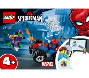 LEGO Spider-Man Car Chase Set 76133 Instructions