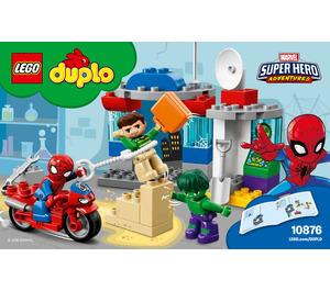 LEGO Spider-Man & Hulk Adventures Set 10876 Instructions