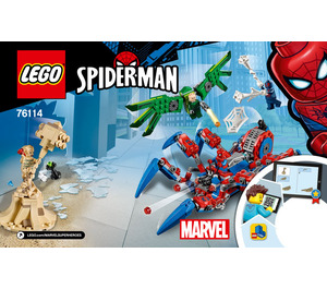 LEGO Spider-Man's Spider Crawler  Set 76114 Instructions