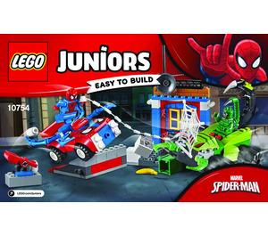 LEGO Spider-Man vs. Scorpion Street Showdown Set 10754 Instructions