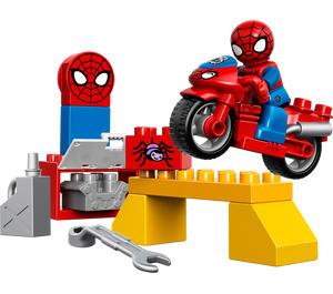 LEGO Spider-Man Web-Bike Workshop (10607)