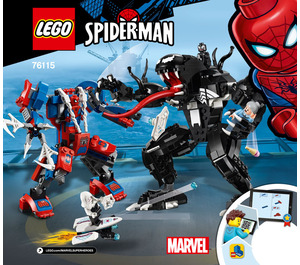 LEGO Spider Mech vs. Venom  Set 76115 Instructions