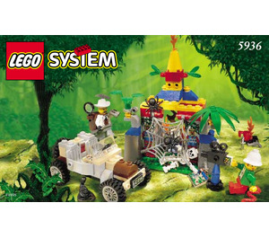 LEGO Spider's Secret Set 5936 Instructions