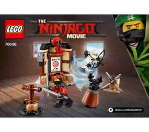 LEGO Spinjitzu Training Set 70606 Instructions