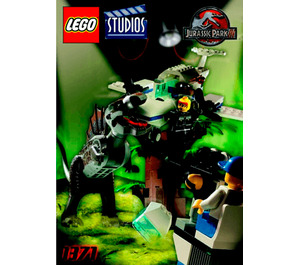 LEGO Spinosaurus Attack Set 1371 Instructions
