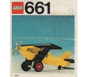 LEGO Spirit of St. Louis Set 661-1 Instructions