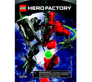 LEGO SPLITFACE Set 6218 Instructions
