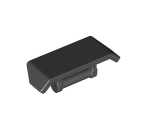 X 3 New. Spoiler with Shaft // Handle 2 X 4 Dark Azure LEGO 98834