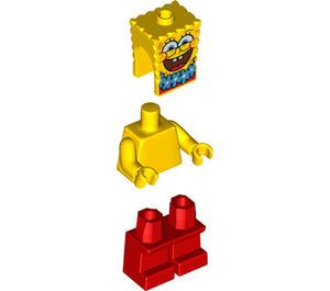 LEGO SpongeBob with Blue Lei Minifigure