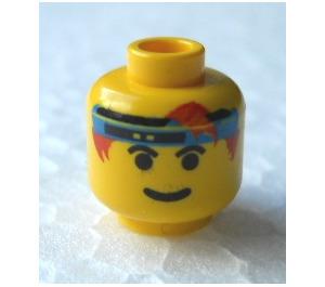 LEGO Spyrius Head (Safety Stud) (3626)