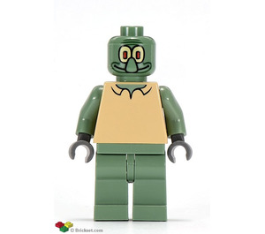 LEGO Squidward Minifigure