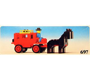 LEGO Stage Coach Set 697