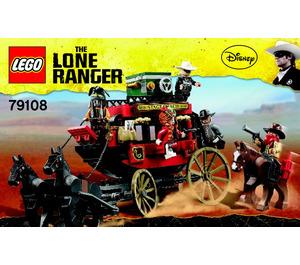 LEGO Stagecoach Escape Set 79108 Instructions
