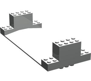 LEGO Standard Road Bottom 8 x 18 x 3 (30399)
