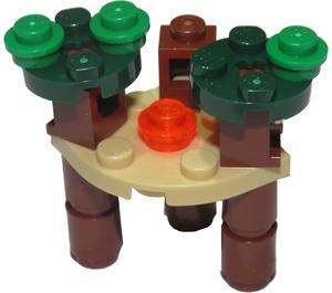 LEGO Star Wars Advent Calendar Set 75097-1 Subset Day 7 - Ewok Village