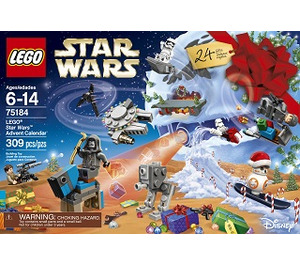 star wars advent calendar instructions