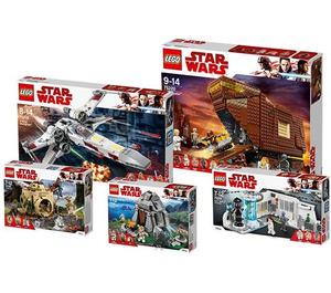 LEGO Star Wars Life of Luke Skywalker bundle Set 5005754