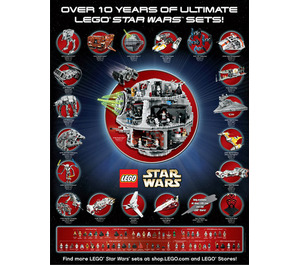 LEGO Star Wars Over 10 Years of Ultimate LEGO Star Wars Sets Poster