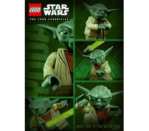 LEGO Star Wars Yoda Chronicles May The 4th Be With You Poster