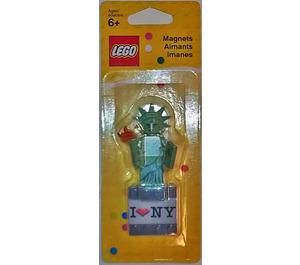 LEGO Statue of Liberty Minifigure Magnet (850497)