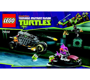 LEGO Stealth Shell in Pursuit Set 79102 Instructions