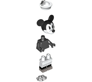 LEGO Steamboat Minnie Mouse Minifigure