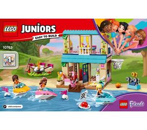 LEGO Stephanie's Lakeside House Set 10763 Instructions