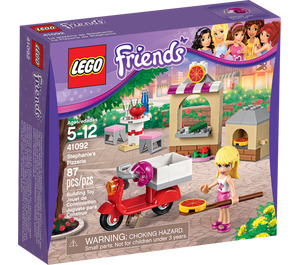LEGO Stephanie's Pizzeria Set 41092 Packaging